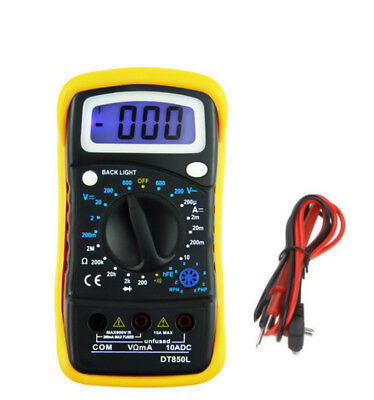 Profi Digital Multimeter Hold DT850L LED Amperemeter Voltmeter Ohmmeter