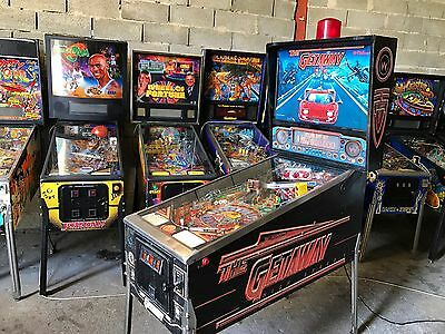 Pinball Williams THE GETAWAY HIGH SPEED II 1992 Order Working Condition Flipper