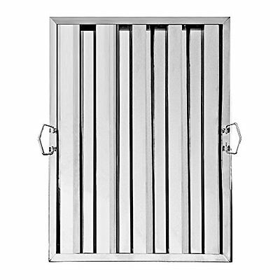 """New Star Foodservice 54392 Stainless Steel Hood Filter, 20"""" x 25"""""""