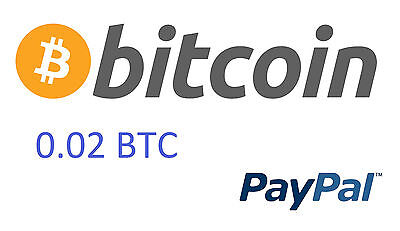 0.02 Bitcoin ( 0,02 BTC) direct to your wallet
