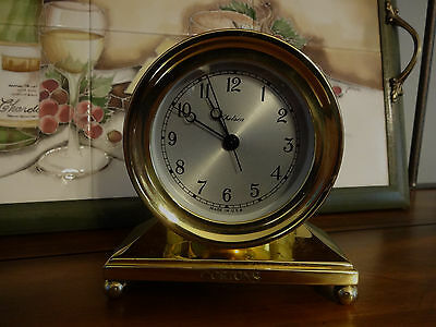 Chelsea Constitution Clock In Brass In Great Working Condition