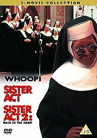 SISTER ACT 1 & 2 Back In The Habit - The Musical Movie DVD NEW