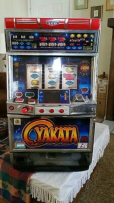 3 Reel YAKATA TOKEN ONLY Slot Machine! FOR ENTERTAINMENT ONLY!