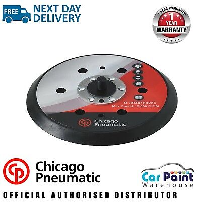 """Chicago Pneumatic CP7225 / CP7255 / CP7215 6""""/150mm Palm Sander Backing Plate"""