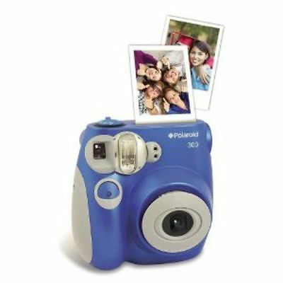 Polaroid PIC-300L Instant Analog Camera (Blue)
