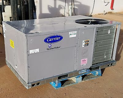 Carrier 4 Ton Packaged Air Conditioner With Gas Heat, 460V 3 Ph - New 188