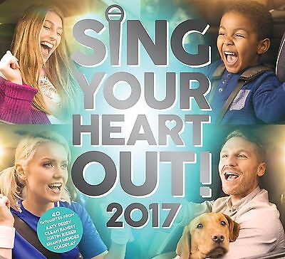 SING YOUR HEART OUT 2017 - VARIOUS ARTISTS: 2CD ALBUM SET (March th 2017)