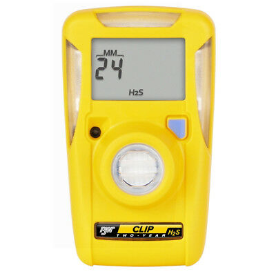 BW Technologies BWC2-H BW Clip Single Gas H2S Detector, Each