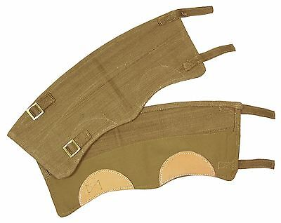 British 37 Pattern Khaki Gaiters - WW2 Repro Commonwealth Leg Boot Protectors