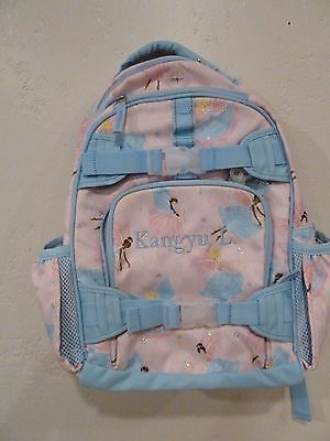 Pottery Barn Kids New Small Pink Fairy Backpack KANGYU L.
