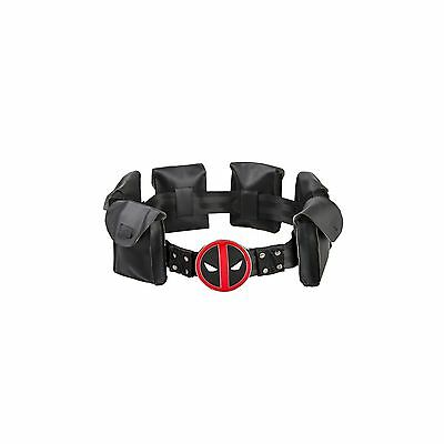Valley Railway Deadpool Cosplay Belt with Metal Buckle Halloween Costume
