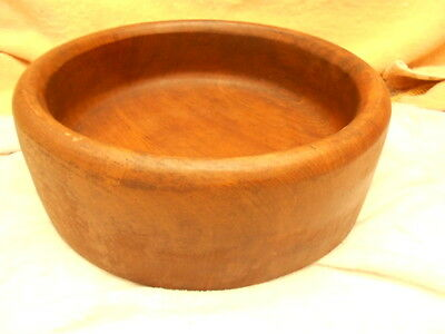 12 Inch Teak Wood Bowl Made By Goodwood Thailand