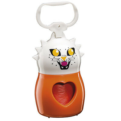 Dispenser moschettone porta rotoli feci cane Ferplast DUDU' ANIMALS TIGER