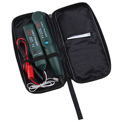 New Phone Wire Telephone Network RJ Line Cable Tracer Tester Toner with Free Bag