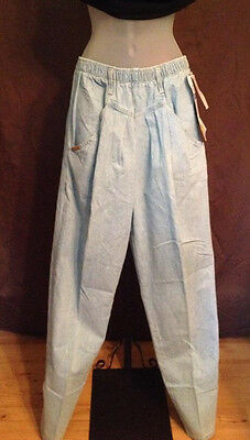 Vintage PS Gitano High Waist Tapered Womens Jeans Size 10 Regular Ruffle top NWT