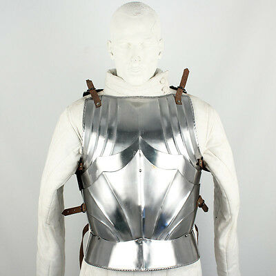 Medieval Warrior German Gothic 16G Breast Plate Body Armor