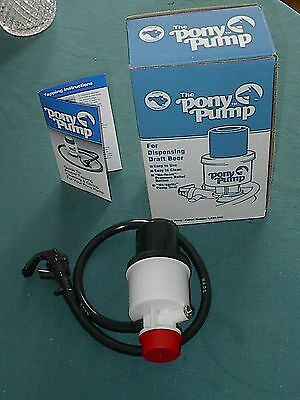 The Pony Draft Beer Keg Pump New With Box And Instructions