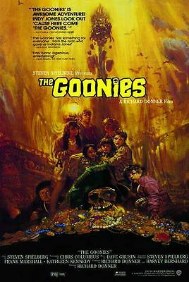 The Goonies Movie POSTER 27 x 40, Sean Astin, Josh Brolin, Style B, LICENSED NEW