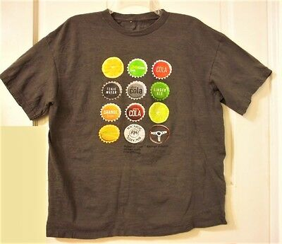 Men's Size XL BACARDI RUM Goes with Everything Graphic Gray T Shirt