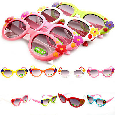 Baby Girls Lovely ANTI-UV 8 Colors Sunglasses Children Fashion Kids Boys Glasses