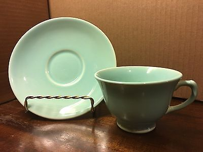 Taylor Smith Taylor Luray Pastel Blue Cup and Saucer Set