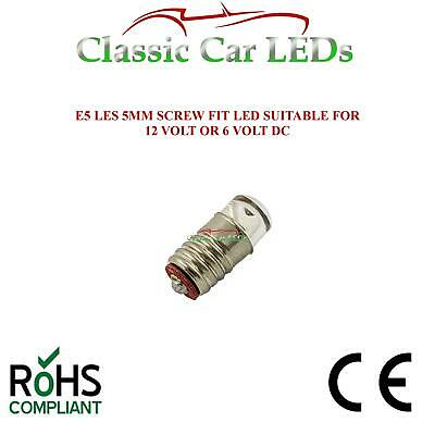Green Austin Mini & Morris Minor 1000 Traveller Indicator Stalk LED Bulb E5 12v