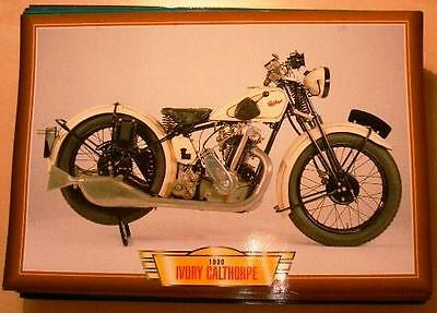Ivory Calthorpe 350 Vintage Classic Motorcycle Bike 1930 Picture 1930's  Single