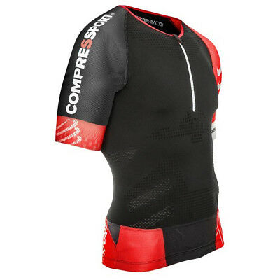 Compressport Men's TR3 Aero Triathlon Top - TSTRIV2