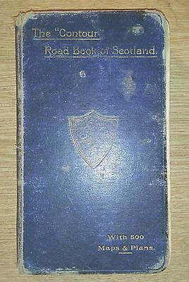 The  'contour' Road Book Of Scotland (Illustrated): 1896