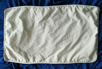 Arms Reach Mini Co-sleeper Sheet, Toffee Shade. Gently used