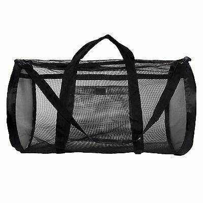 Dive Bag - Heavy Duty Mesh Duffel Bag, Features Storage Pouch for Diving, Scuba