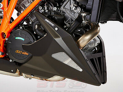 Bodystyle Bugspoiler schwarz-matt/belly pan-KTM 1290 Super Duke R 2014