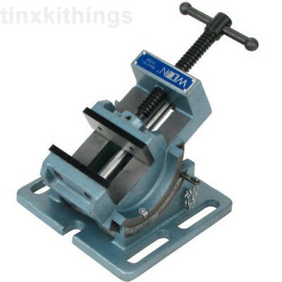 Angle Drill Press Vise Metal Tapping Machine Work Bench Adjustable Clamp Tool