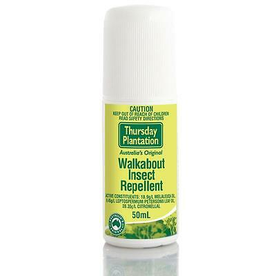 Thursday Plantation Walkabout Insect Repellent Roll-On 50Ml Roll On Tea Tree Oil