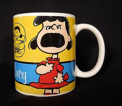 2011 LUCY Celebrate PEANUTS GANG 60 Years Gibson Collectible Coffee Mug Cup