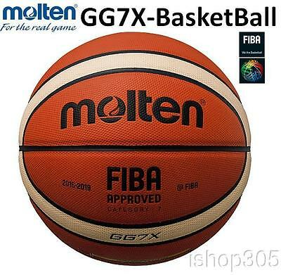 MOLTEN GG7X Basketball FIBA Composite Leather 100% Authentic US Seller
