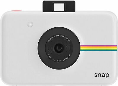 Polaroid Snap Instant Digital Camera with ZINK Zero Ink Technology (White)