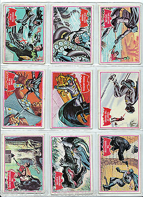 1966 National Periodical Publications Batman Red trading cards complete Set
