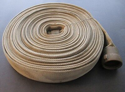 """FM 75FT X 2.5"""" N.F.H. FIRE HOSE 250 PSI With Heavy Brass Couplings"""