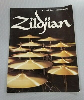 VINTAGE MUSICAL INSTRUMENT CATALOG #10494 - ZILDJIAN CYMBALS and ACCESSORIES