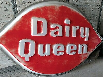 vintage dairy queen sign front