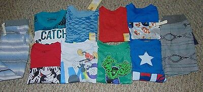 Lot Boy Clothes size 12 months Summer and Spring Shirts and Shorts New w/ Tags