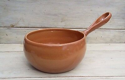 Vintage Iroquois Casual Russel Wright ripe Apricot sauce pan no lid