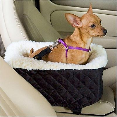Booster Warm Car Seat Auto Pet Dog Cat Carrier Puppy Safety Soft Travel Basket