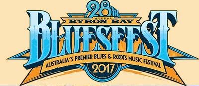 3 day Byron Bay Blues Festival ticket with camping