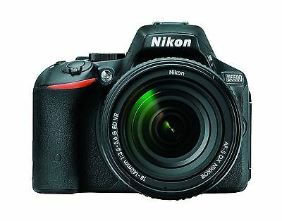 Nikon D5500 SLR Camera with 18-140mm Lens - Black 1548 (International Version)