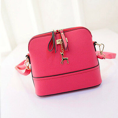 New Women Messenger Bags Vintage Small Shell Leather Handbag Casual Bag