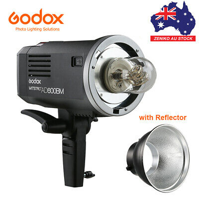 AU Godox AD600BM 2.4G HSS Outdoor Flash Strobe Light Bowens Mount + Battery