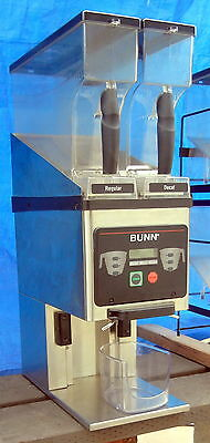 Bunn Model MSG-SSI Commercial coffee bean Grinder