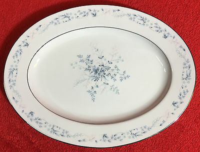 "Noritake Contemporary 2693 CAROLYN 11 1/2"" Oval Serving Platter EXCELLENT!"
